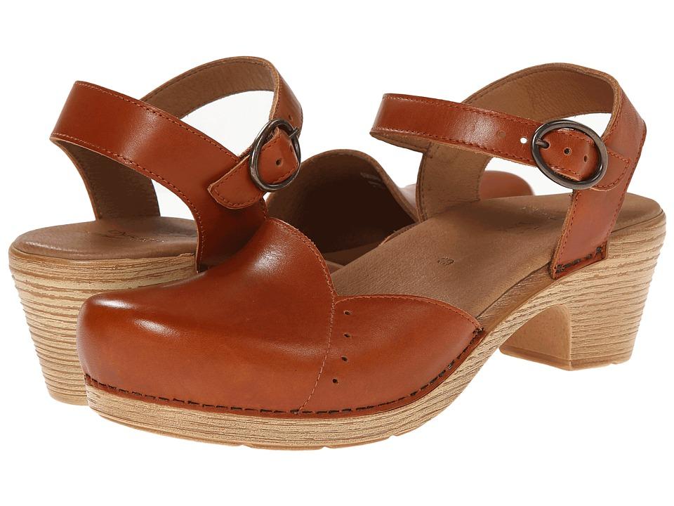 Dansko - Maisie (Toffee Full Grain) Women's 1-2 inch heel Shoes
