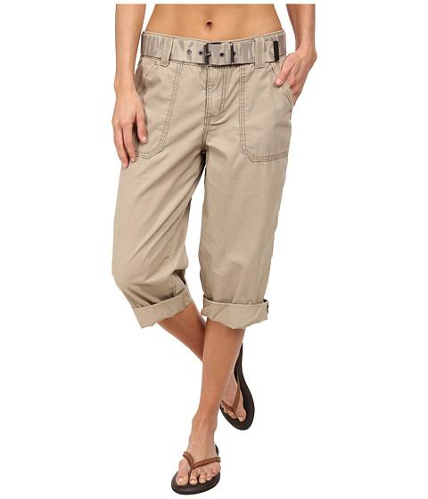 Carhartt - El Paso Cropped Pant (Field Khaki) Women's Casual Pants