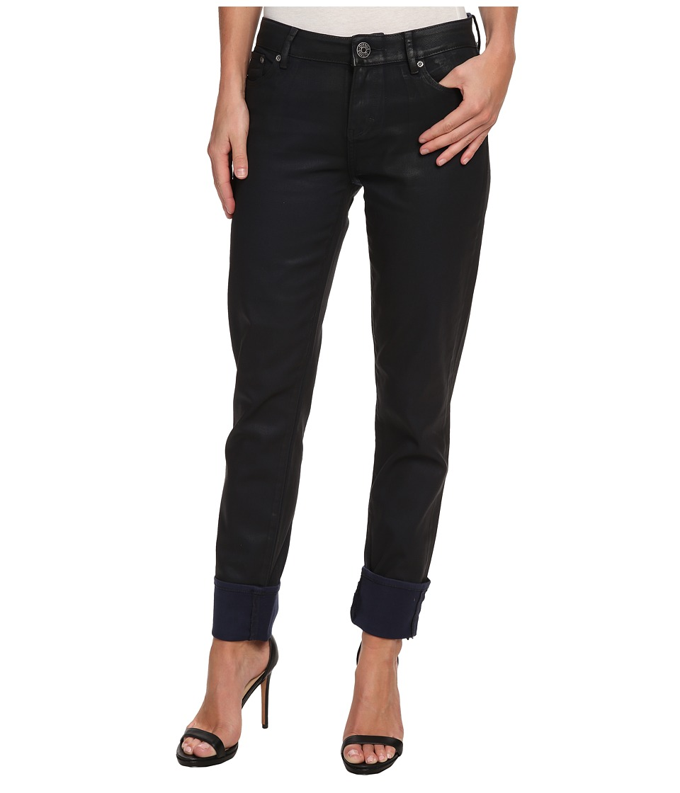 Dittos - Asher Relaxed Straight (Navy Wax) Women's Jeans