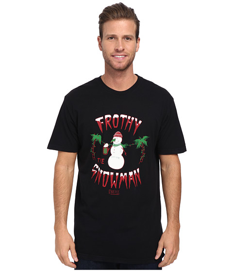 O'Neill - Frothy S/S Screen Tee (Black) Men's T Shirt