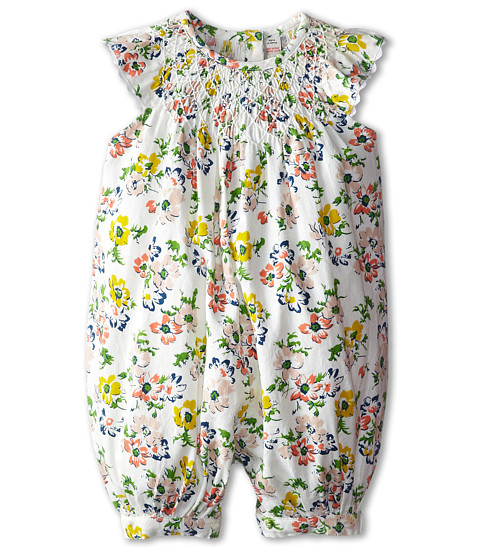 Stella McCartney Kids - Sun Baby Floral Print Romper (Infant) (Floral) Girl's Jumpsuit & Rompers One Piece