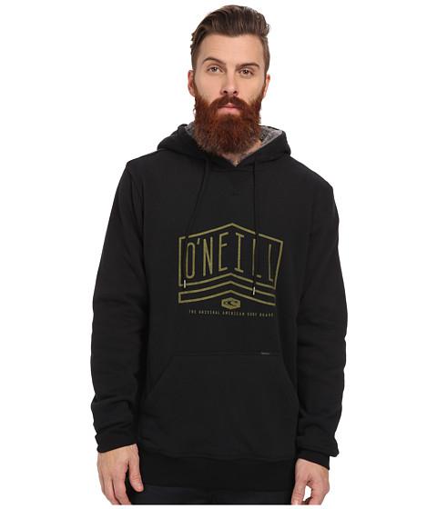 O'Neill - Santa Rosa Fashion Fleece (Black) Men's Sweatshirt