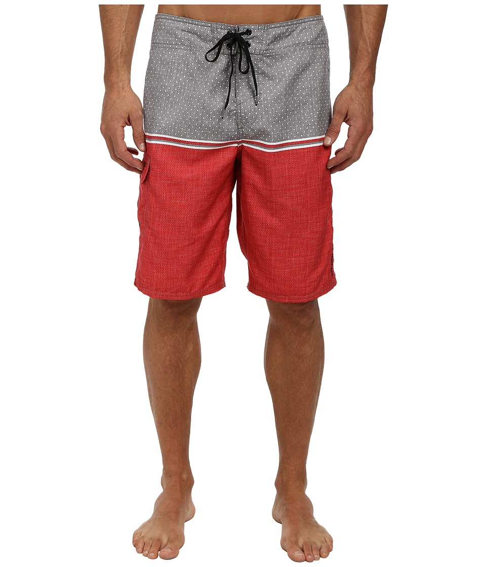 O'Neill - Trinidad Boardshort (Tomato Red) Men's Swimwear