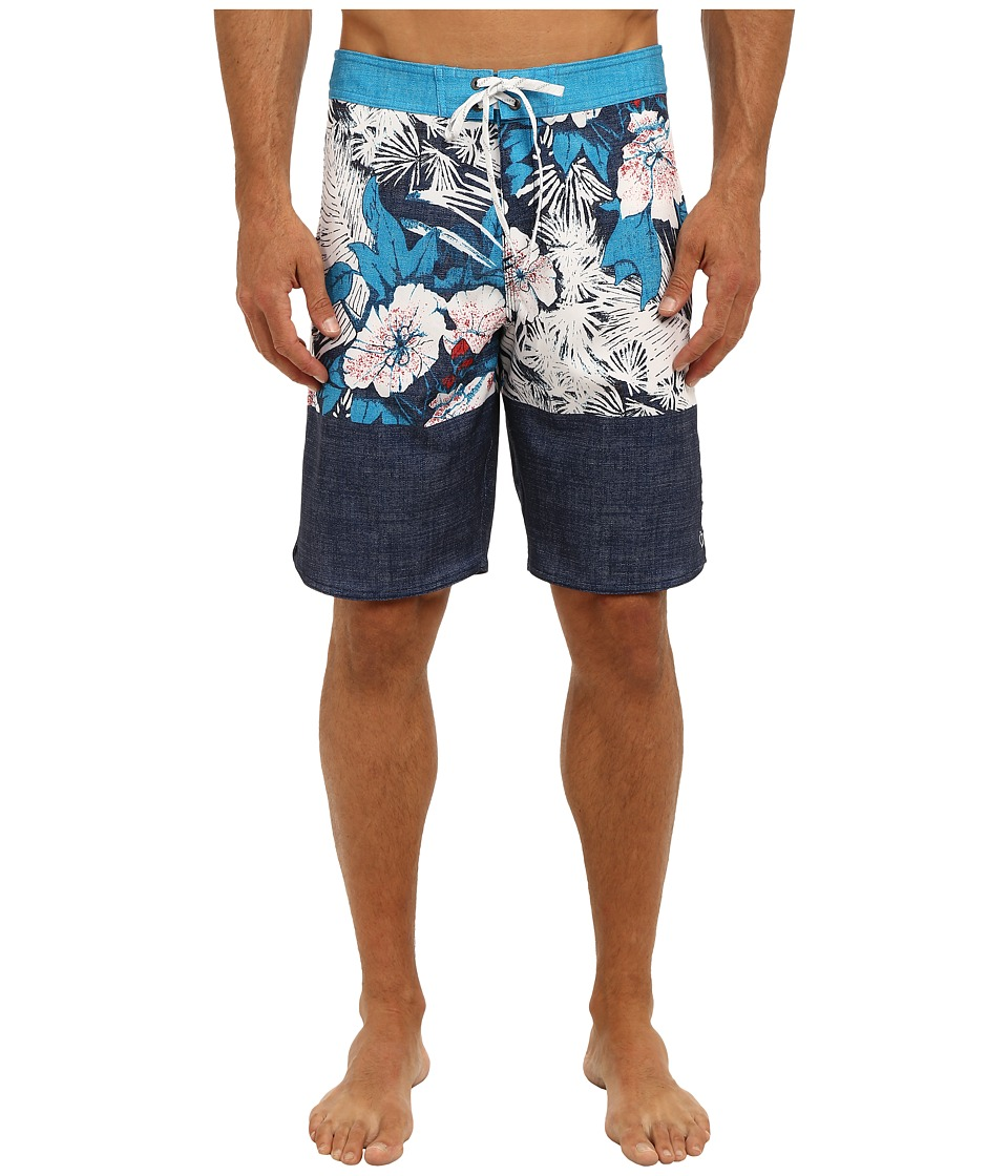 O'Neill - Stained Horizon Boardshort (Lumo Blue) Men's Swimwear