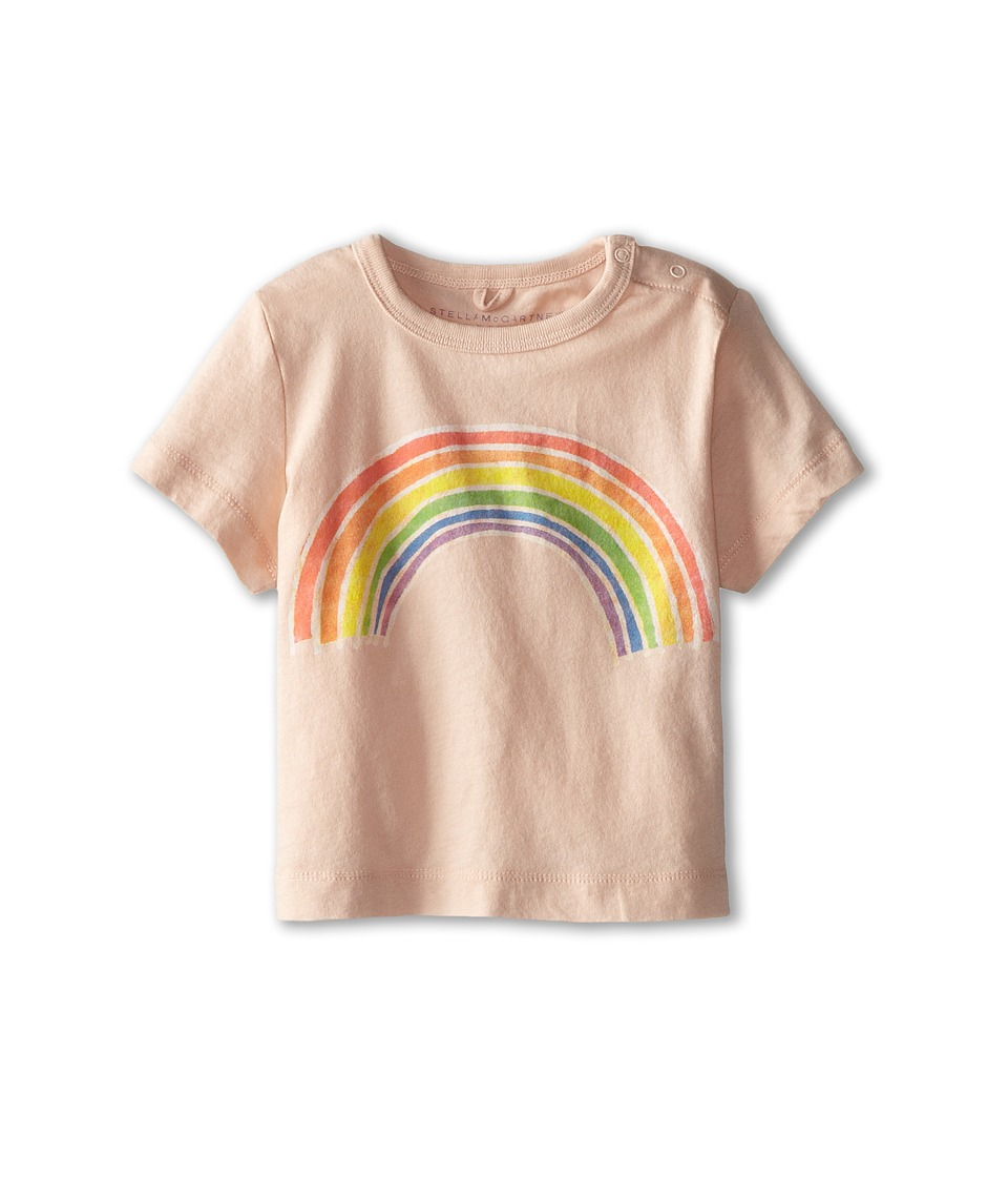 Stella McCartney Kids - Chuckle Baby Rainbow Print Tee (Infant) (Pink) Girl's T Shirt