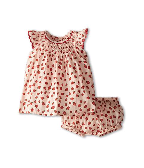 Stella McCartney Kids - Sage Baby Apple Print Dress (Infant) (Red) Girl