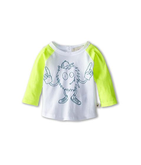 Stella McCartney Kids - Max Baby L/S Mascot T-Shirt (Infant) (White) Boy