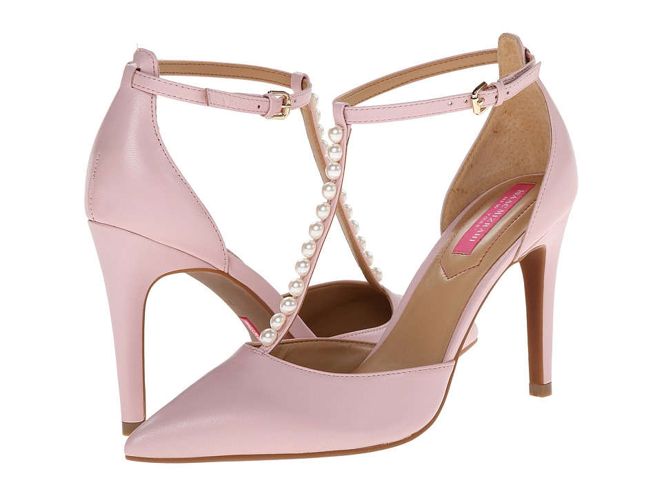 Isaac Mizrahi New York - Luna (Pink Blush Leather) High Heels