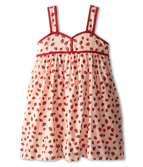 Stella McCartney Kids - Ruby Apple Print Dress (Toddler/Little Kids/Big Kids) (Red) Girl's Dress