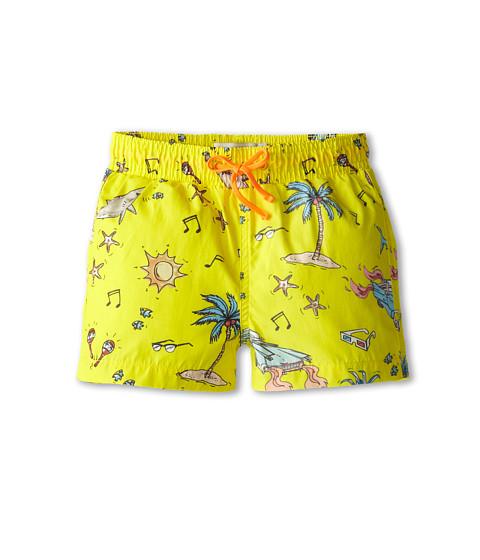 Stella McCartney Kids - Taylor Swim Trunks (Toddler/Little Kids/Big Kids) (Yellow) Boy