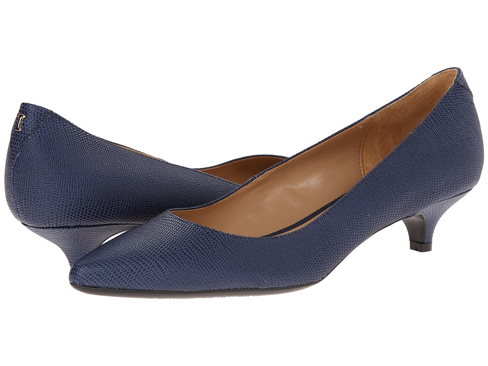 Isaac Mizrahi New York - Gabriel 3 (Dark Blue Lizard) Women's 1-2 inch heel Shoes