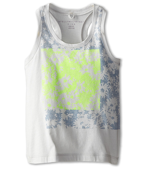 Stella McCartney Kids - Valentine Daisy Print Tank (Toddler/Little Kids/Big Kids) (Blue Print) Girl's Sleeveless