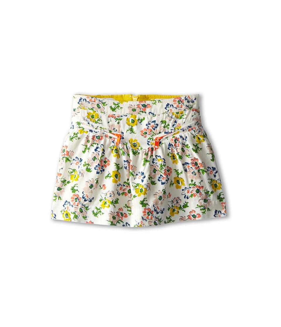 Stella McCartney Kids - Logna Floral Skirt w/ Zippers On Front (Toddler/Little Kids/Big Kids) (Floral) Girl's Skirt