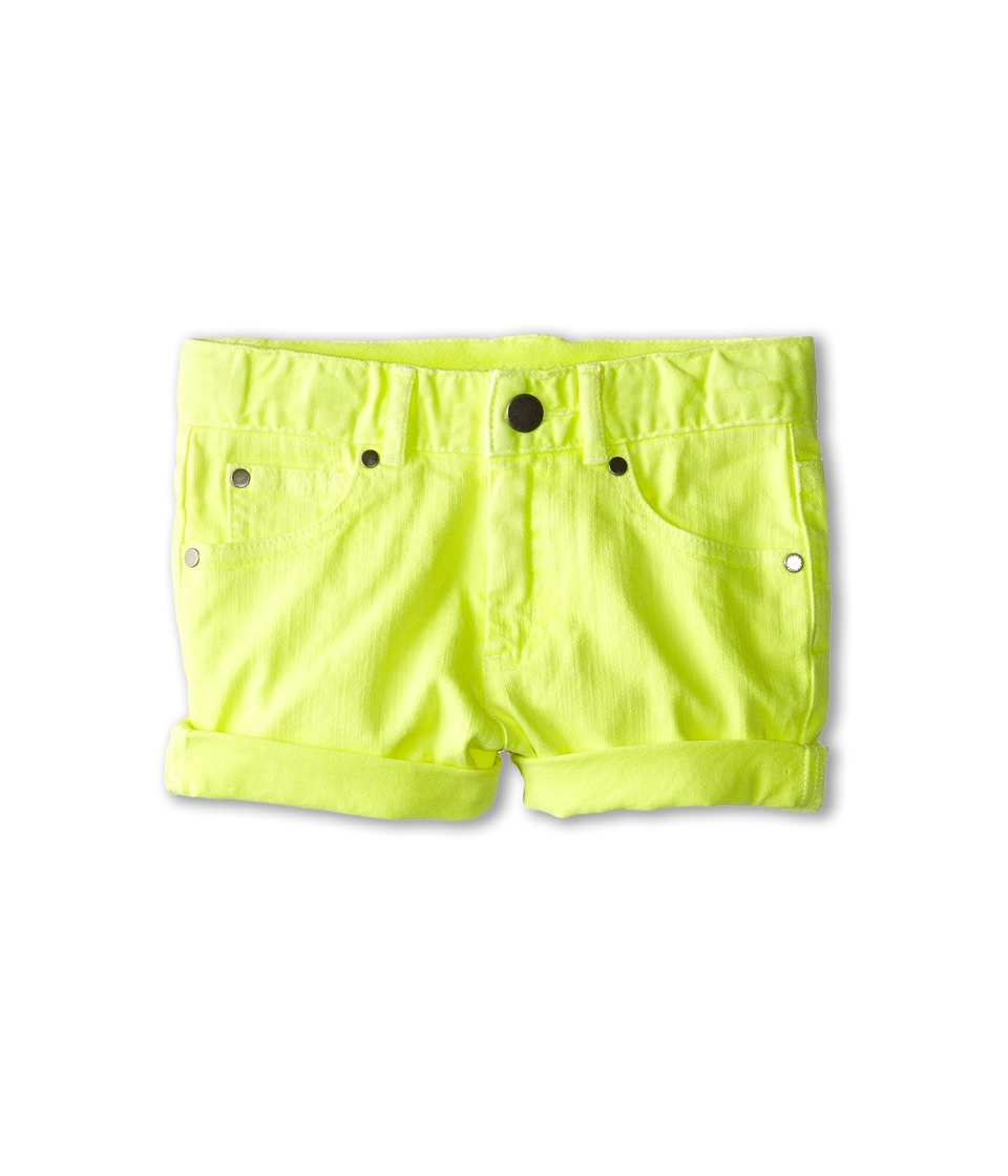 Stella McCartney Kids - Blake Colored Denim Shorts (Toddler/Little Kids/Big Kids) (Yellow) Boy