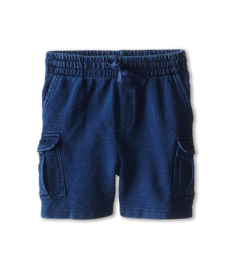 Stella McCartney Kids - Rob Knit Denim Shorts (Toddler/Little Kids/Big Kids) (Navy) Boy's Shorts