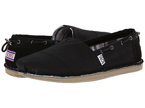 BOBS from SKECHERS - Bob Chill- Rowboat (Black) Women's Flat Shoes