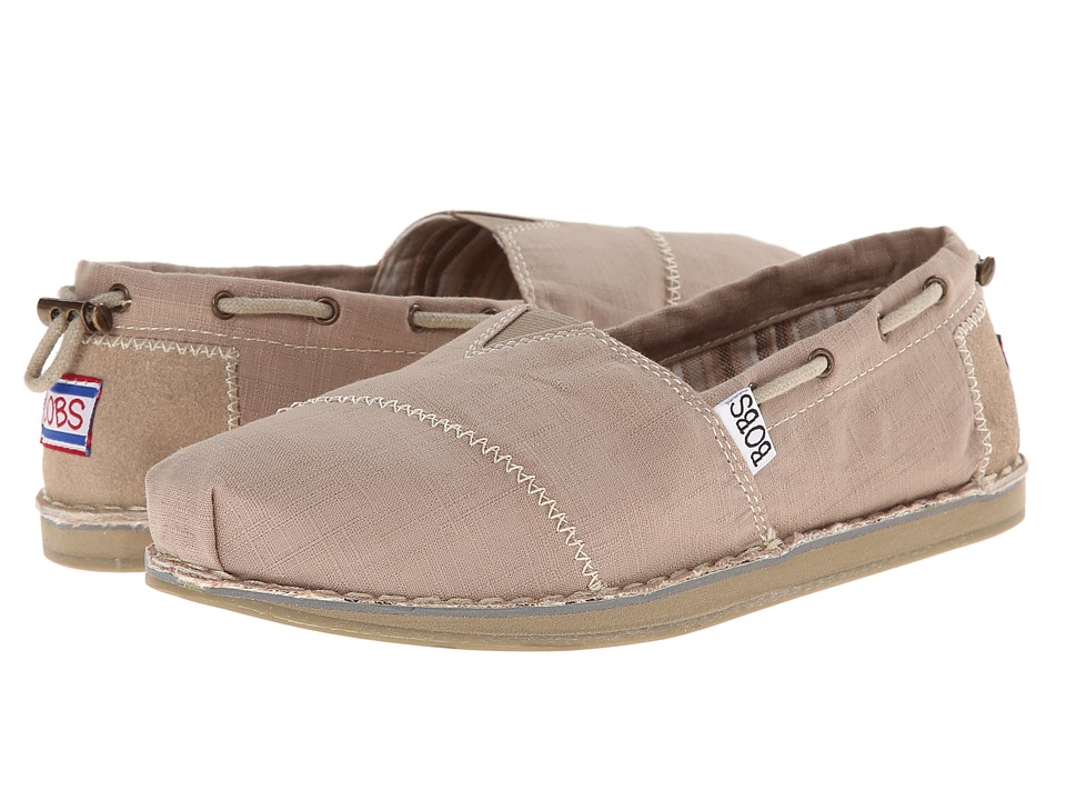 BOBS from SKECHERS - Bob Chill- Rowboat (Taupe) Women's Flat Shoes
