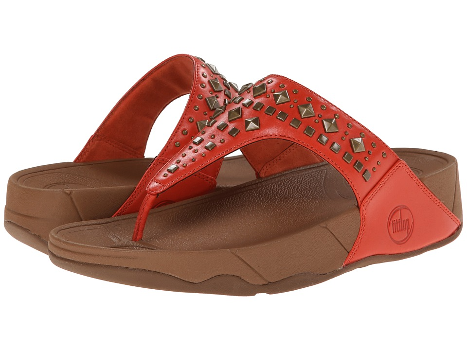 FitFlop - Biker Chic (Flame) Women's Sandals
