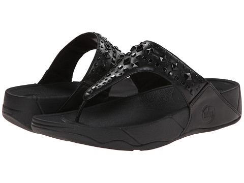 FitFlop - Biker Chic (All Black) Women's Sandals