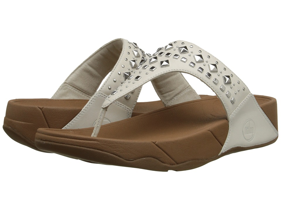 FitFlop - Biker Chic (Urban White) Women's Sandals