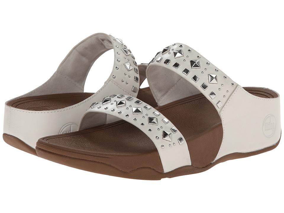 FitFlop - Biker Chic Slide (Urban White) Women's Sandals