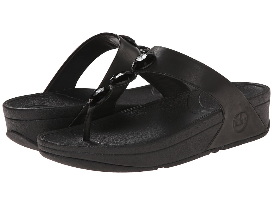 FitFlop Petra (All Black) Women