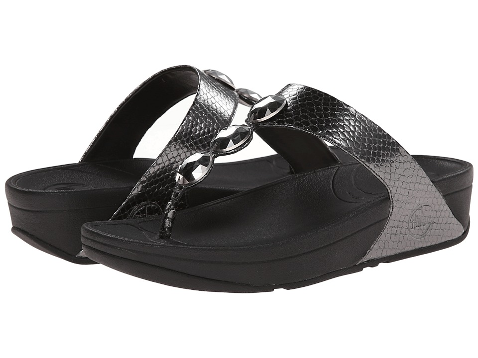 FitFlop - Petra (Pewter) Women's Sandals