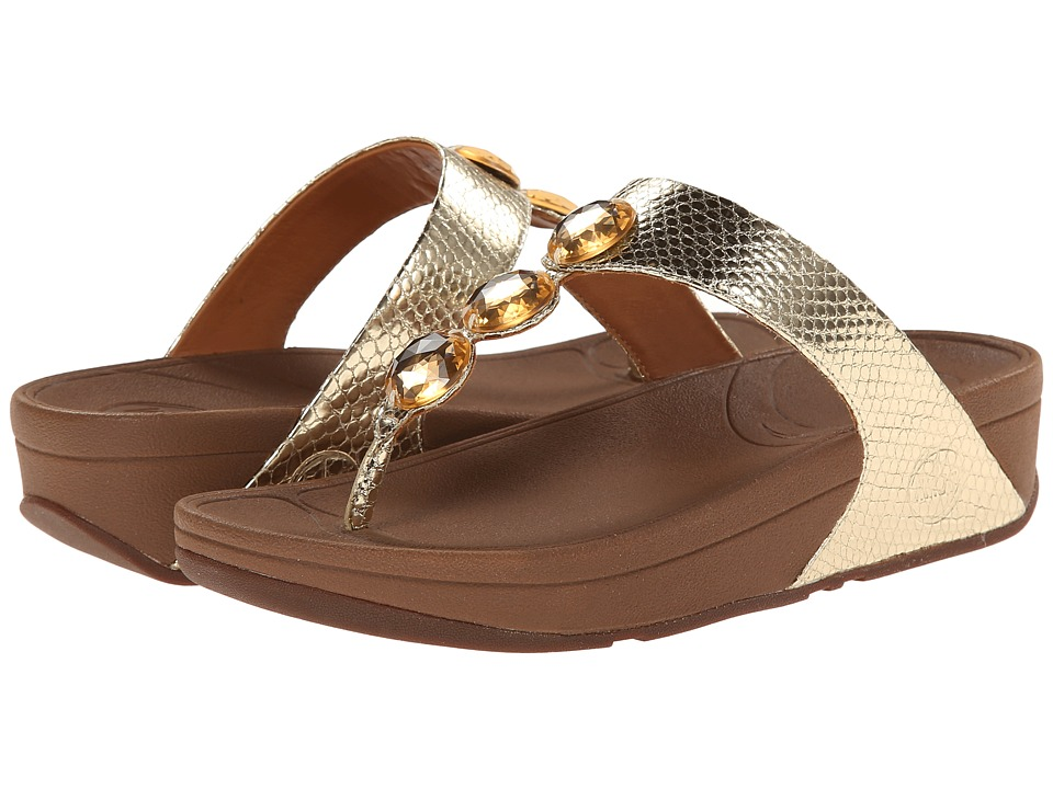 FitFlop Petra (Pale Gold) Women