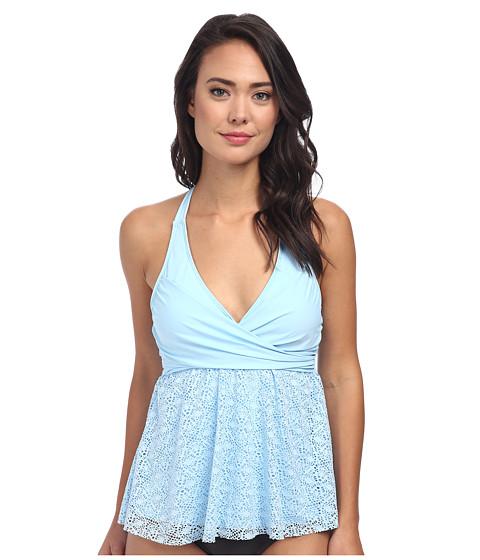 Athena - Gazebo Wrap Tankini (Blue) Women's Swimwear