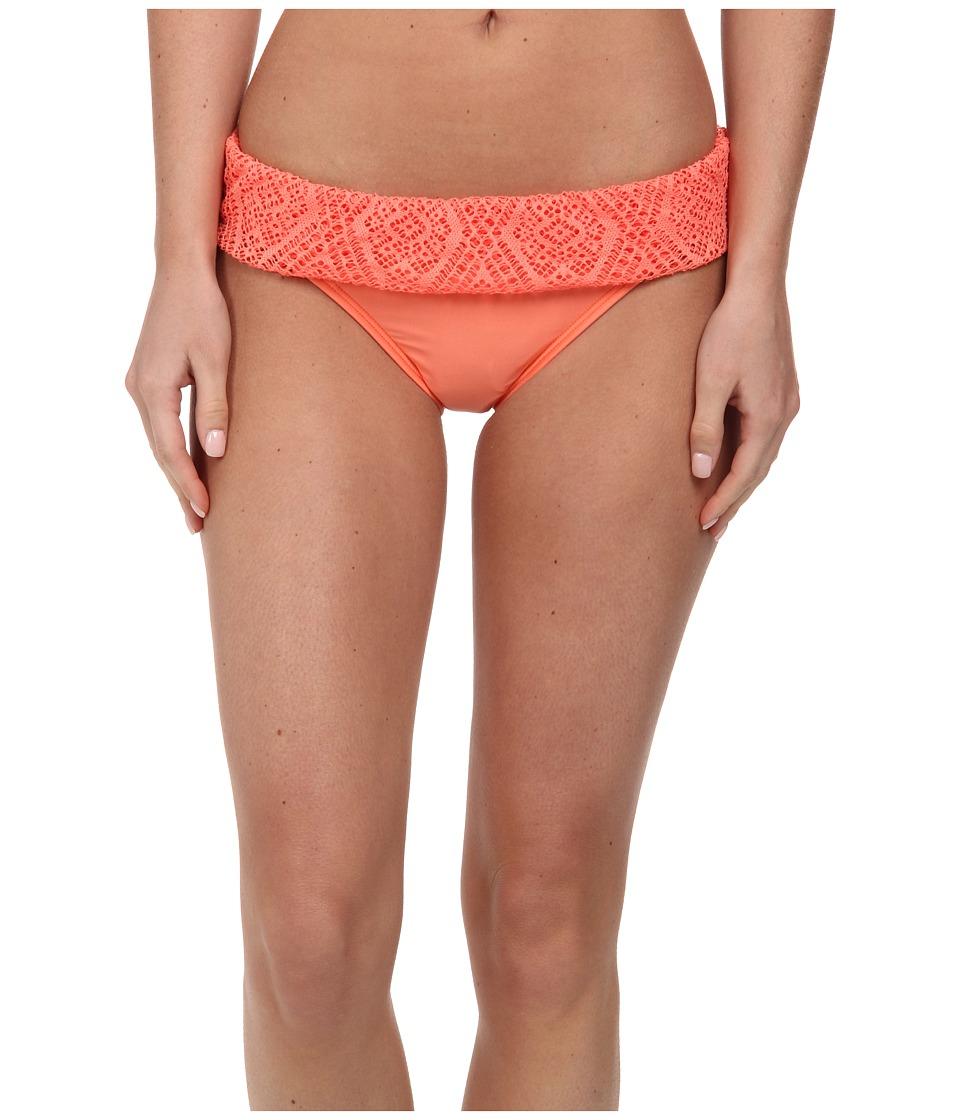 Ella Moss - Primrose Retro Pant (Tangerine) Women's Swimwear