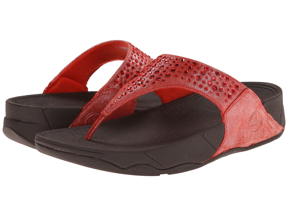 FitFlop - Novy (Flame) Women's Sandals