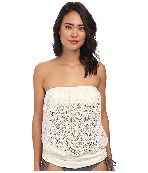 Athena - Gazebo S/C Banded Bandini (White) Women's Swimwear