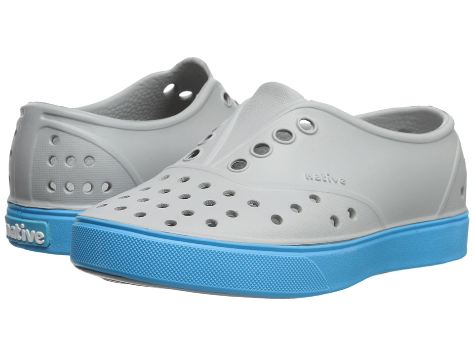 Native Kids Shoes - Miller (Toddler/Little Kid) (Pigeon Grey/Lucy Blue) Boys Shoes