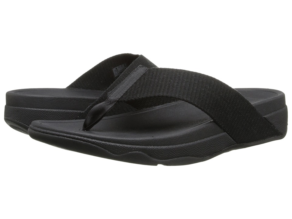 FitFlop - Surfa (All Black) Women's Sandals