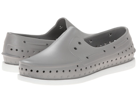 Native Kids Shoes - Howard (Little Kid) (Pigeon Grey/Shell White) Boys Shoes