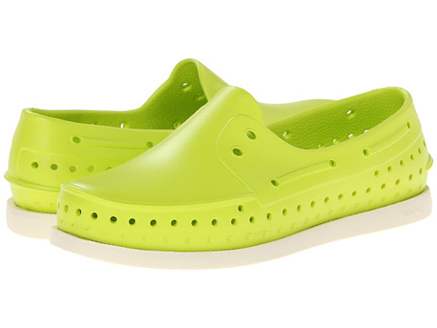 Native Kids Shoes - Howard (Little Kid) (Chartreuse Green) Boys Shoes
