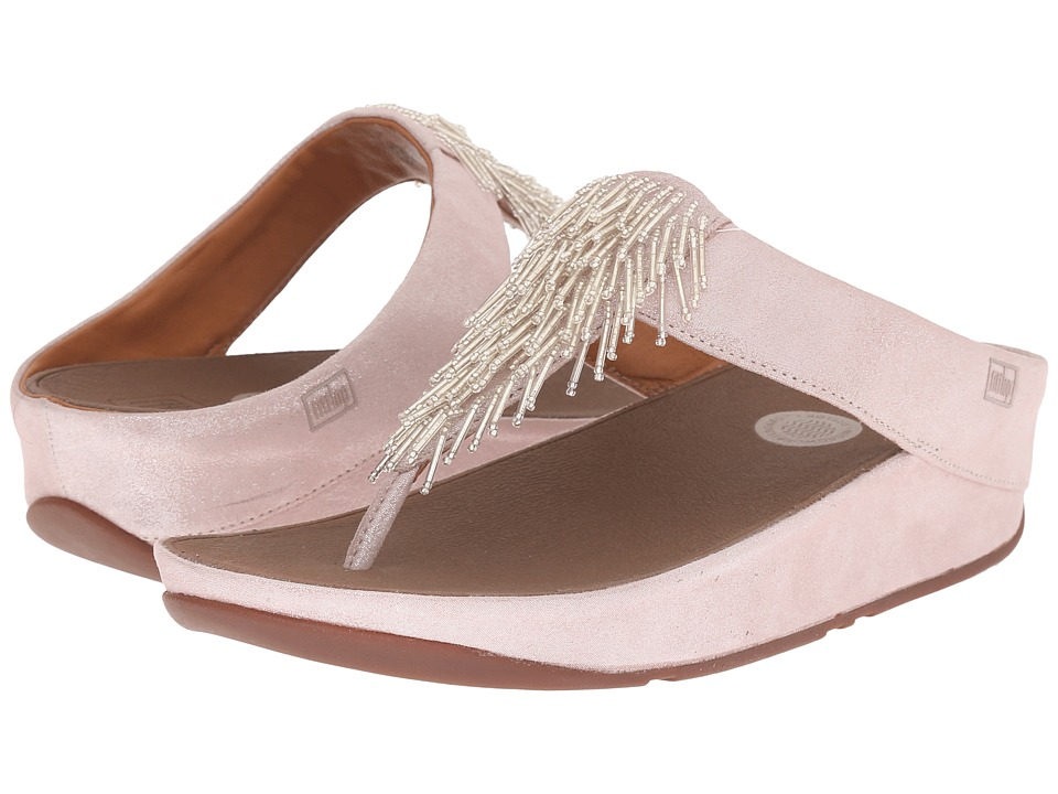 FitFlop - Cha Cha (Silver) Women's Slide Shoes