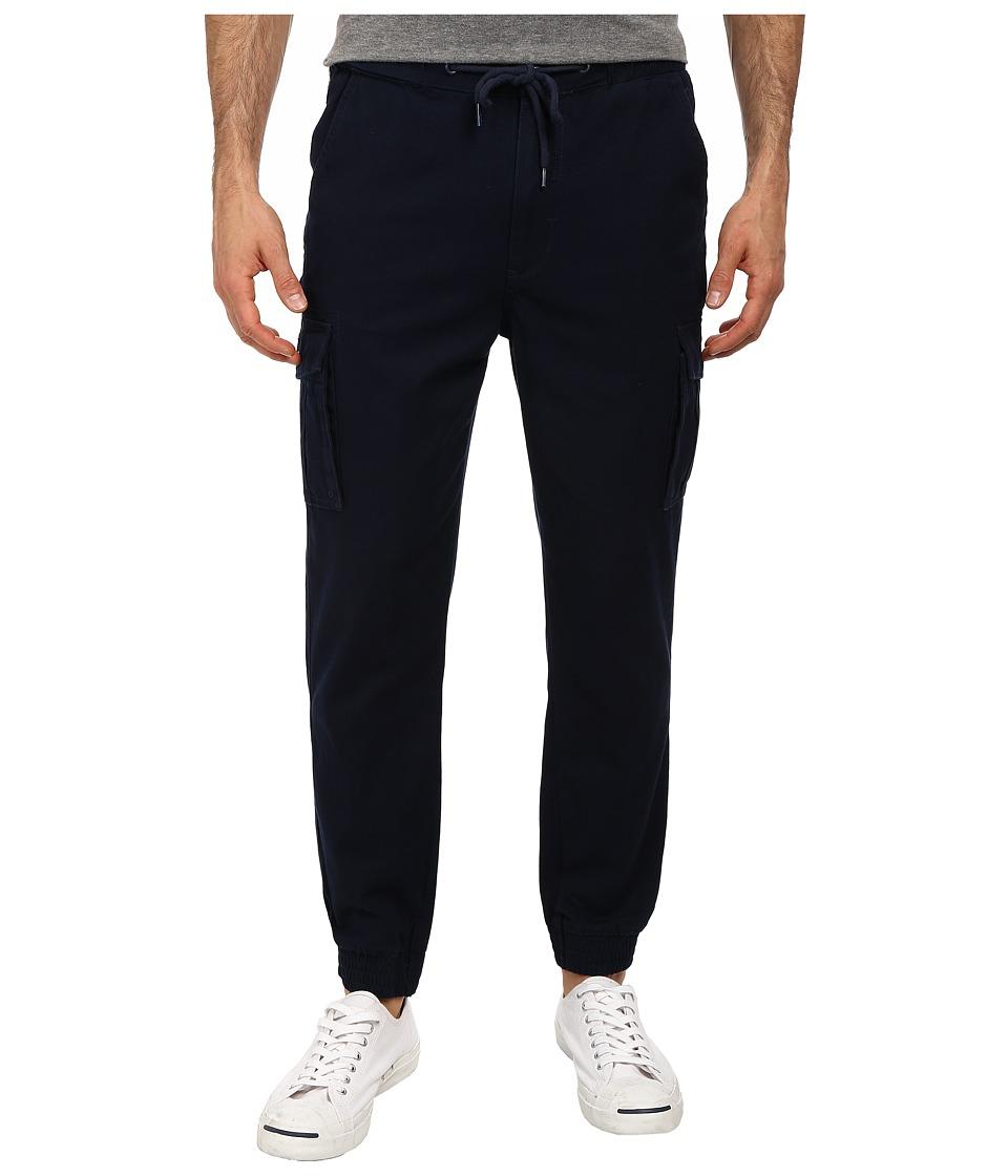 Staple - Canvas Cuff Pants (Navy) Men