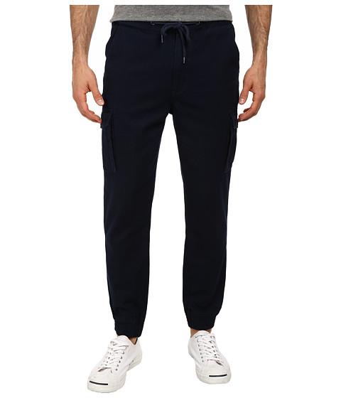 Staple - Canvas Cuff Pants (Navy) Men's Casual Pants