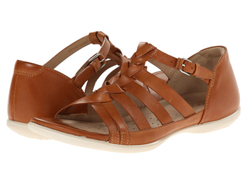 ECCO - Flash Woven Sandal (Lion) Women's Sandals