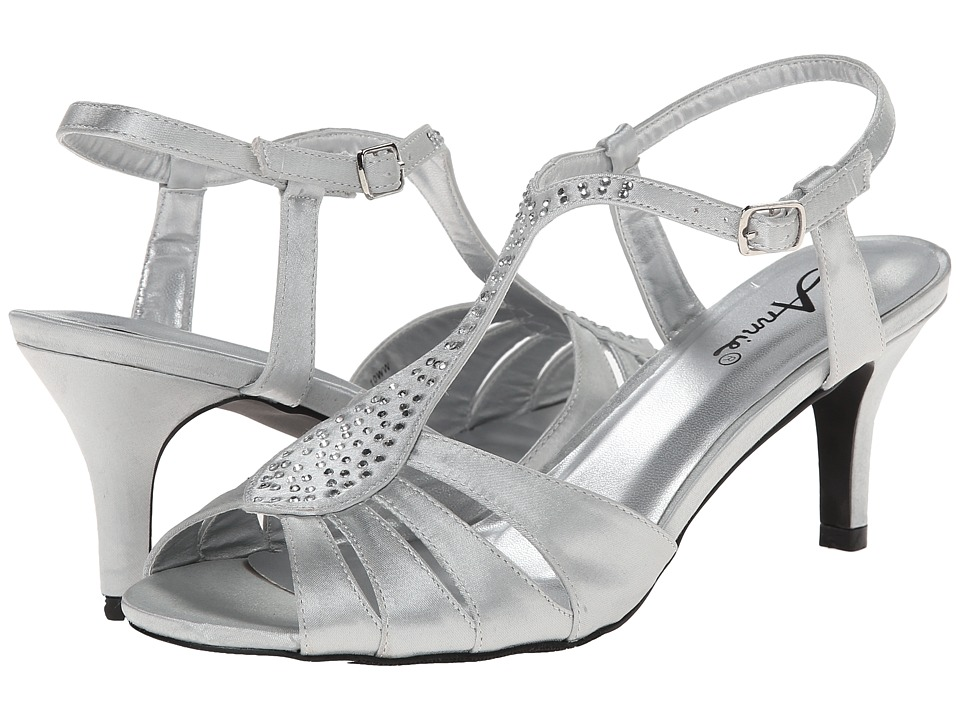 Annie Luxury (Silver) High Heels
