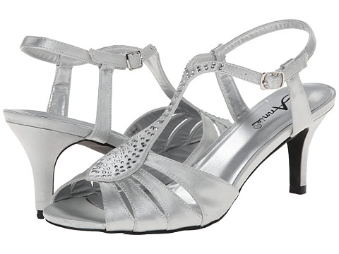 Annie - Luxury (Silver) High Heels