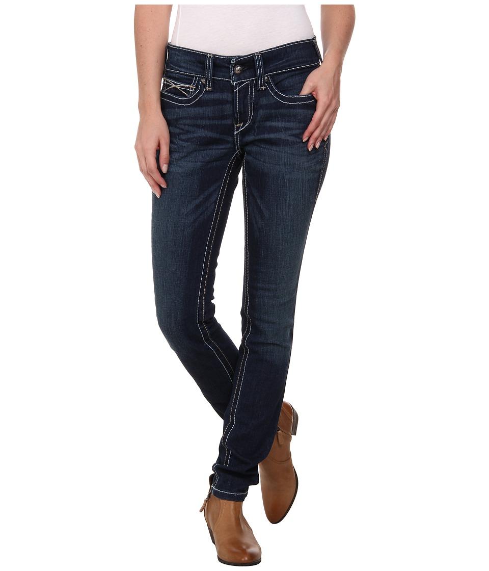 Ariat - R.E.A.L. Skinny Whipstitch Jean in Ocean (Ocean) Women's Jeans