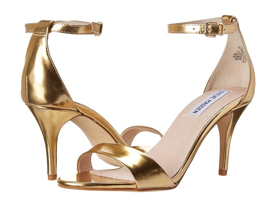 Steve Madden - Sillly (Gold Foil) High Heels