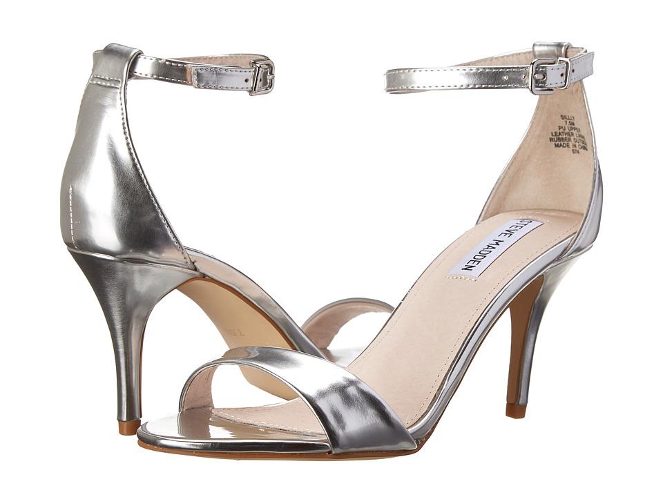 Steve Madden - Sillly (Silver Foil) High Heels