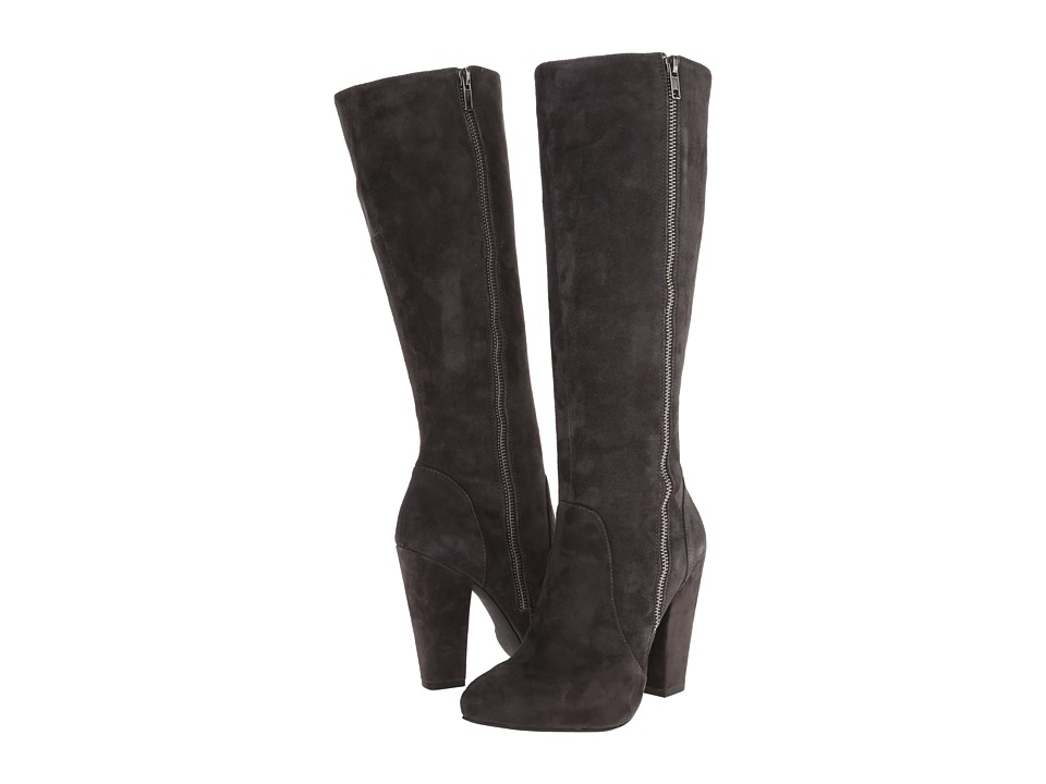 Steve Madden - Joan (Grey Suede) Women's Dress Boots