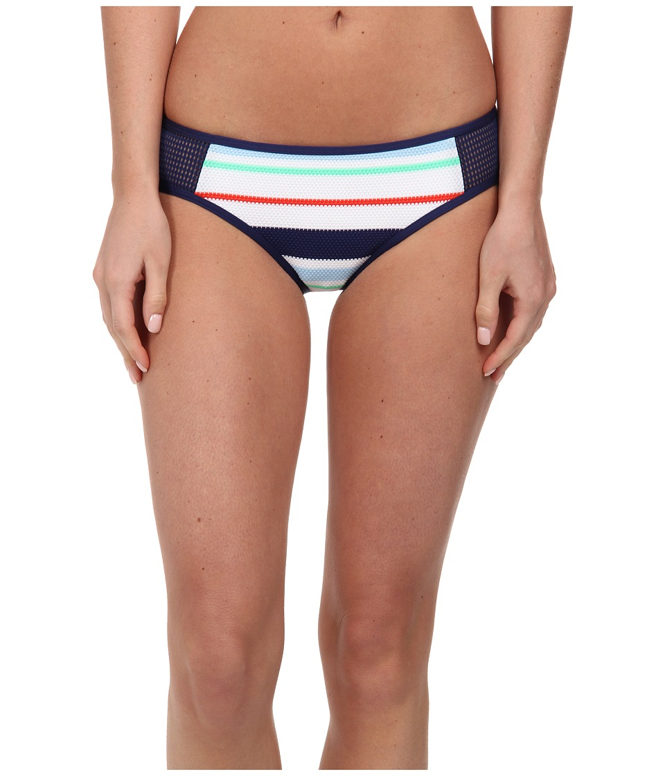 Splendid - Topanga Stripe Brief (Navy) Women's Swimwear