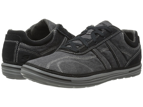 SKECHERS - Relaxed Fit Landen - Morse (Black) Men