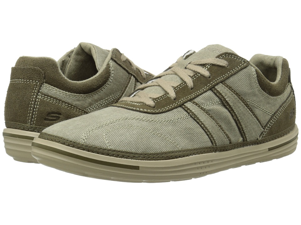 SKECHERS - Relaxed Fit Landen - Morse (Taupe) Men's Shoes