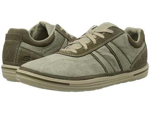 SKECHERS - Relaxed Fit Landen - Morse (Taupe) Men